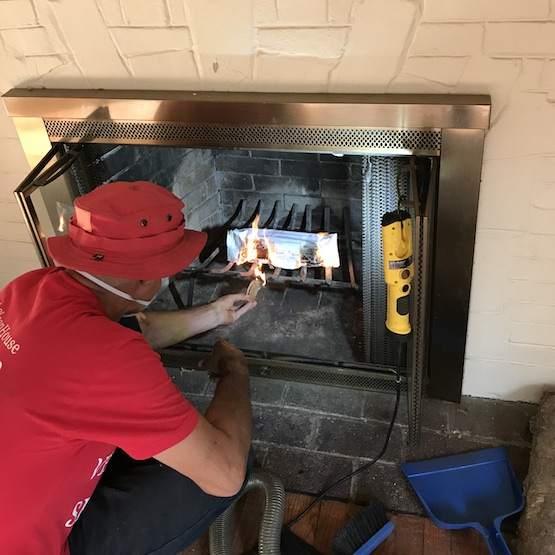 Fire Place Cleaning In Northfield Il Chimney Monkey