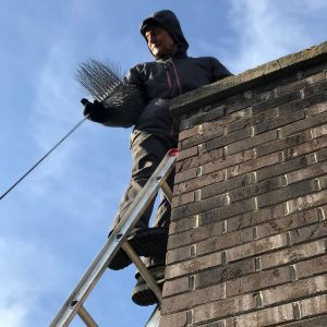 Chimney sweep in vernon hills