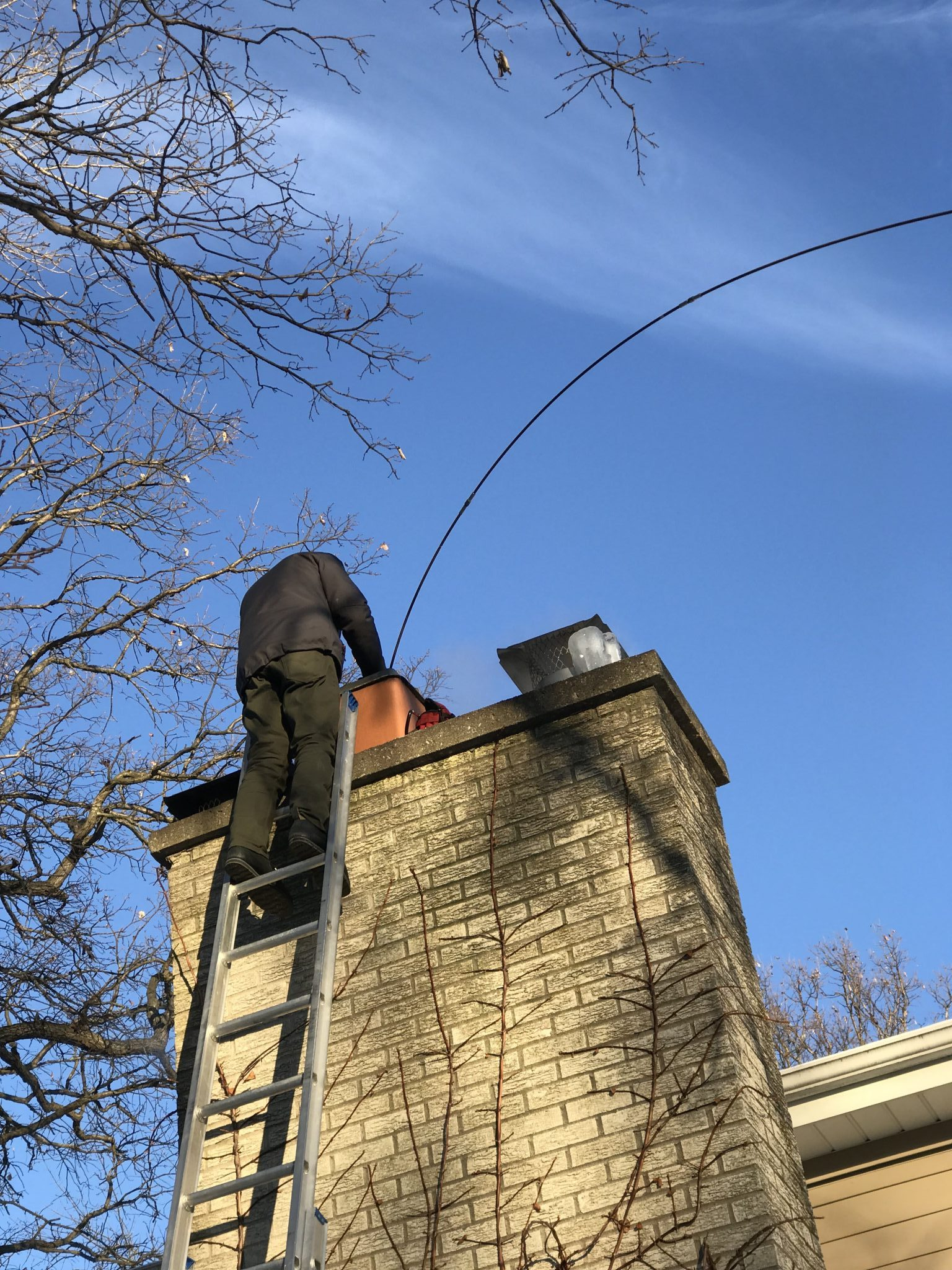 Riverside Chimney Sweep Chimney Monkey 312 687 1352