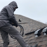 dryer vent cleaning by chimney monkey