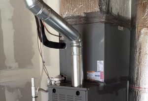Furnace Flue Cleaning by chimney monkey