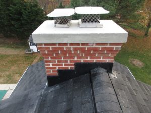 chimney crown repair by chimney monkey