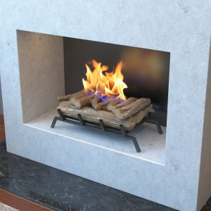 fireplace conversion chimney monkey